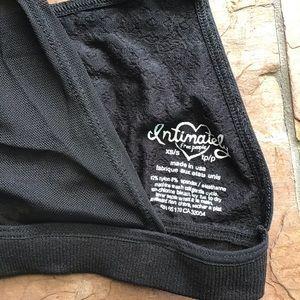 Free People Intimates & Sleepwear - INTIMATELY FREE PEOPLE black mesh back bralette S